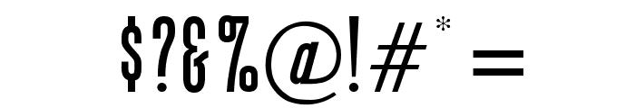 OPTIGiant Font OTHER CHARS