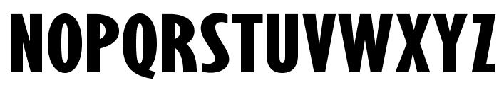 OPTIGibby-XBoldXCondHeads Font LOWERCASE