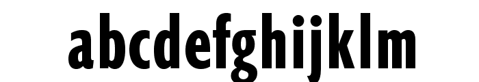 OPTIGibbyDFive-Compressed Font LOWERCASE
