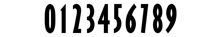 OPTIGibbyFive-BoldXCond Font OTHER CHARS