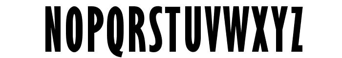 OPTIGibbyFive-BoldXCond Font UPPERCASE