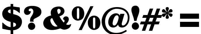 OPTIGlobeGothic-Bold Font OTHER CHARS