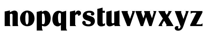OPTIGlobeGothic-Bold Font LOWERCASE