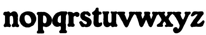 OPTIGorilla Font LOWERCASE