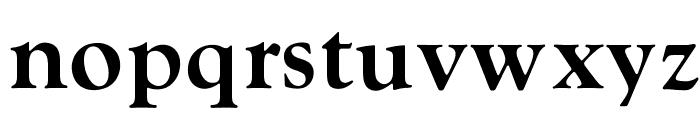 OPTIGoudy-BoldAgency Font LOWERCASE