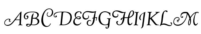 OPTIGoudy-Cursive Font UPPERCASE