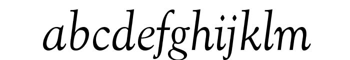 OPTIGoudy-Cursive Font LOWERCASE