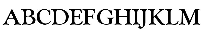 OPTIGoudy-MediumAgency Font UPPERCASE