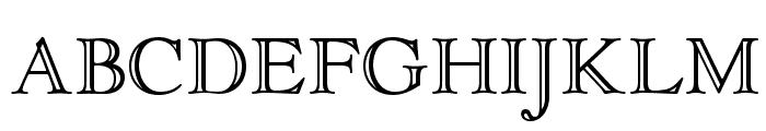 OPTIGoudyOpen Font UPPERCASE