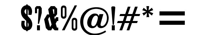 OPTIGrecian-Bold Font OTHER CHARS