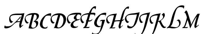 OPTIGreig-Swash Font UPPERCASE