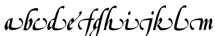 OPTIGreig-SwashSupplement Font LOWERCASE