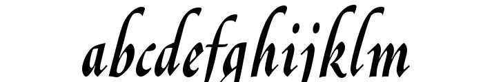 OPTIGreig-Swash Font LOWERCASE