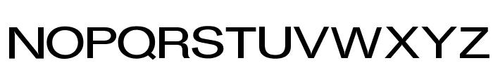 OPTIGurney-MediumExpanded Font UPPERCASE