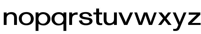 OPTIGurney-MediumExpanded Font LOWERCASE