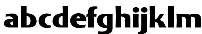 OPTIHadji-ExtraBold Font LOWERCASE