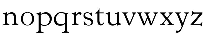 OPTIHobble-OldStyle Font LOWERCASE