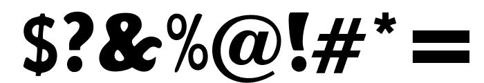 OPTIHobo-BoldAgency Font OTHER CHARS