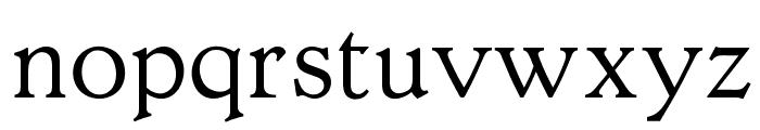 OPTIHollandseLight-Agency Font LOWERCASE