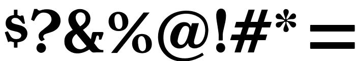 OPTIHollandseSemiBoldAg Font OTHER CHARS