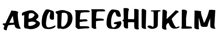 OPTIHomer Font UPPERCASE