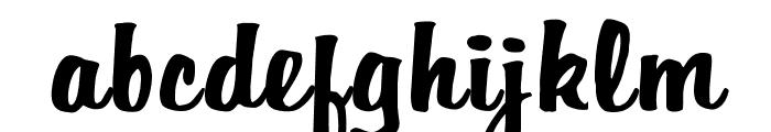 OPTIHomer Font LOWERCASE