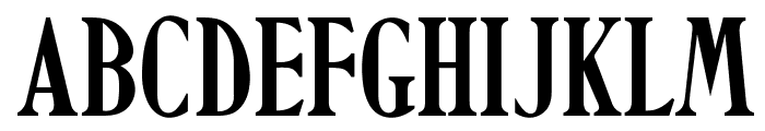 OPTIHowland Font UPPERCASE