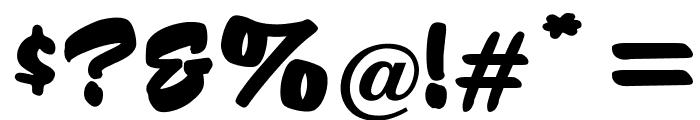 OPTIHusky Font OTHER CHARS