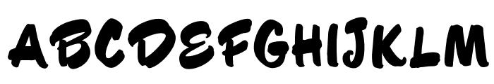 OPTIHusky Font UPPERCASE