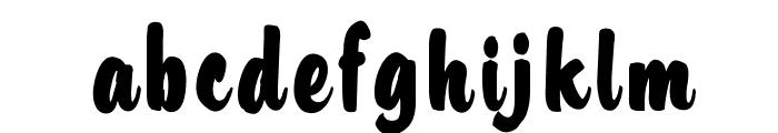 OPTIHusky Font LOWERCASE
