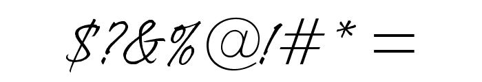 OPTIIngramFive Font OTHER CHARS