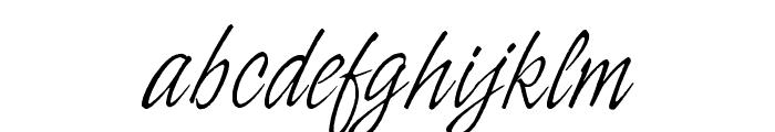 OPTIIngramFive Font LOWERCASE