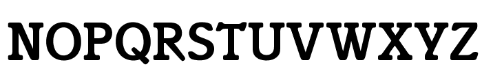 OPTIIsadora-Medium Font UPPERCASE