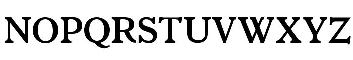 OPTIItalianOldstyle-Bold Font UPPERCASE