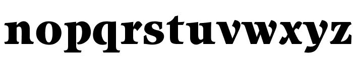 OPTIItzach-Heavy Font LOWERCASE