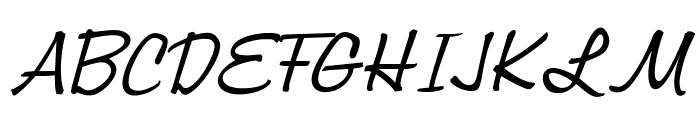 OPTIJackson Font UPPERCASE