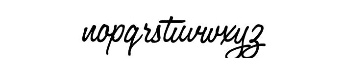 OPTIJackson Font LOWERCASE