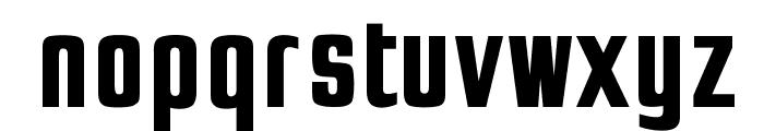OPTIJaffaGothicBold Font LOWERCASE