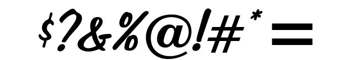 OPTIJefferson Font OTHER CHARS