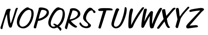 OPTIJefferson Font UPPERCASE