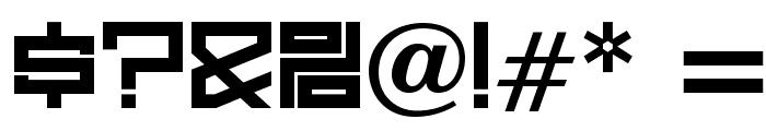 OPTIJerklista-DemiBold Font OTHER CHARS
