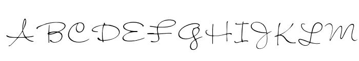 OPTIJiffy Font UPPERCASE