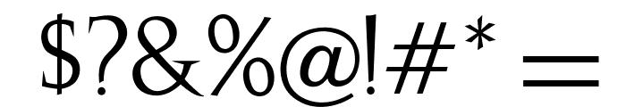 OPTIJulie Font OTHER CHARS
