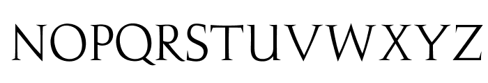 OPTIJulie Font UPPERCASE