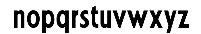 OPTIKabelBoldCondensed Font LOWERCASE