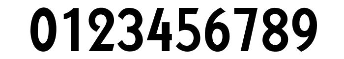 OPTIKabelFive-BoldCond Font OTHER CHARS