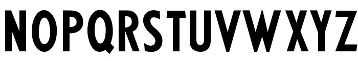 OPTIKabelFive-BoldCond Font UPPERCASE