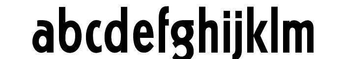OPTIKabelFive-BoldCond Font LOWERCASE