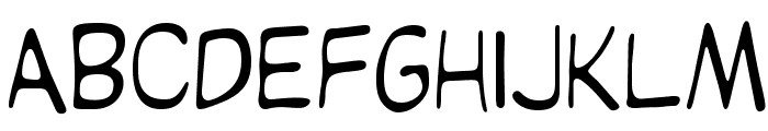 OPTIKartoon Font LOWERCASE