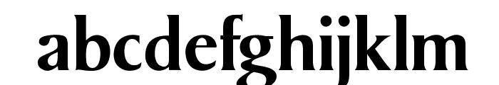 OPTIKeene-Bold Font LOWERCASE